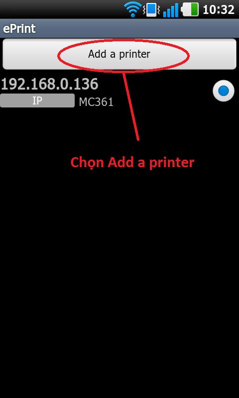 Cài đặt máy in OKI để Iphone, Ipad có thể in trực tiếp bằng chương trình ePrint